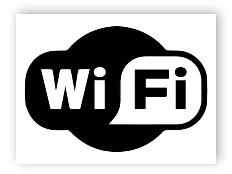 Wi-Fi-Symbol Aufkleber