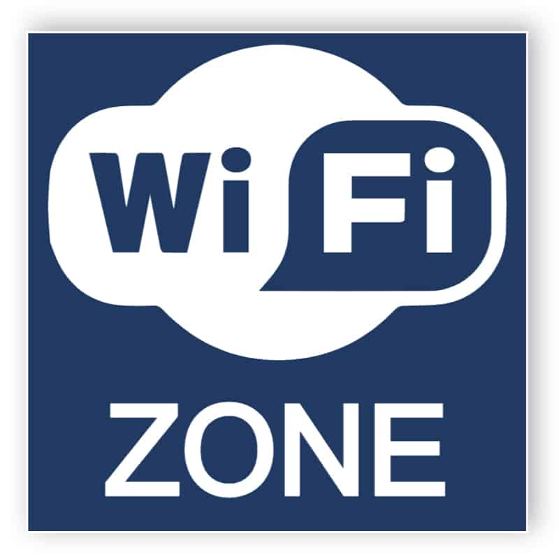 Wifi Aufkleber