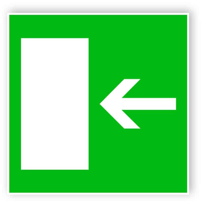 Rettungsweg nach links 1